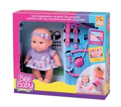 Boneca Infantil Chorinho C/ Acessórios Bee Baby