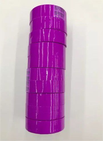 Fita Adesiva 12x10 Durex Colorido Pacote C/10 Fit-Pel