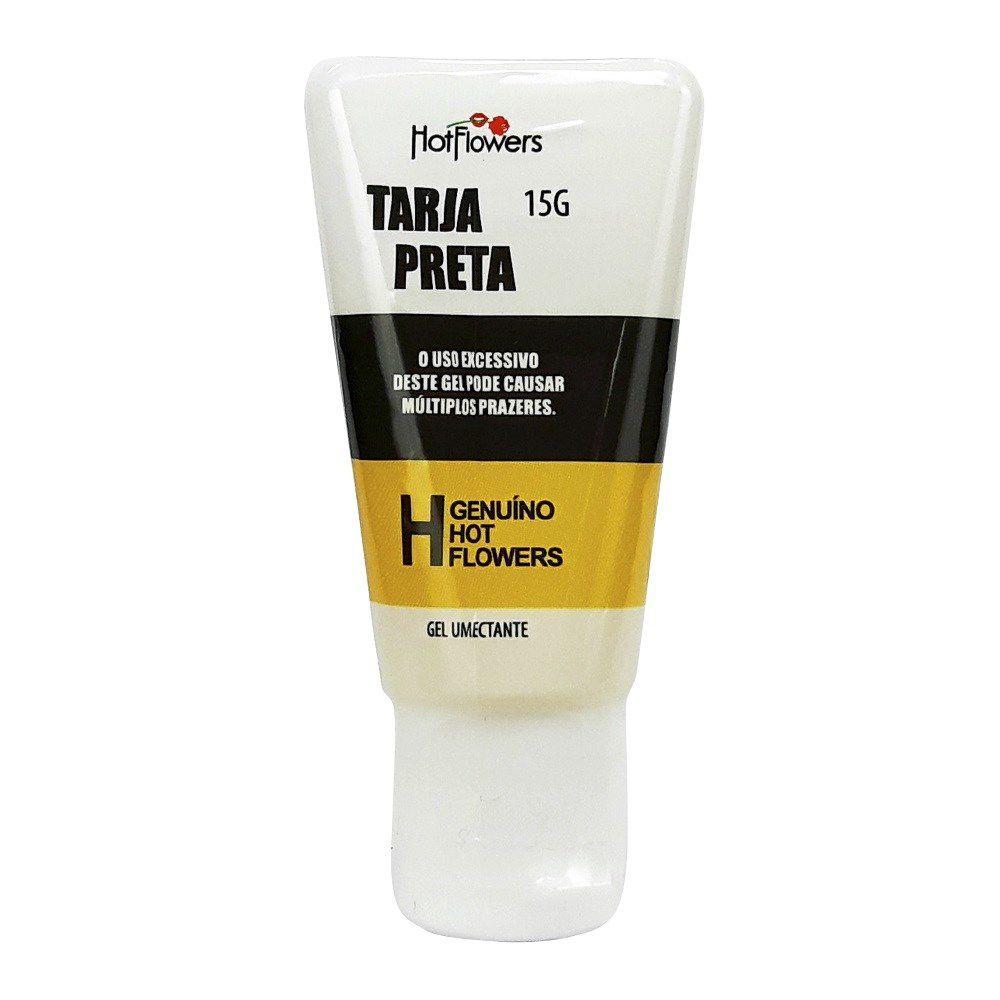 Gel Excitante Unissex Tarja Preta 15g Hot Flowers