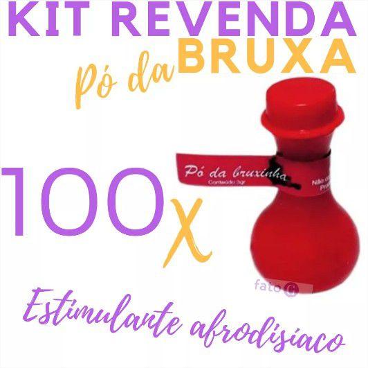 Kit 100 Energético Em Pó Mágico Da Bruxinha 2 Grs Revenda