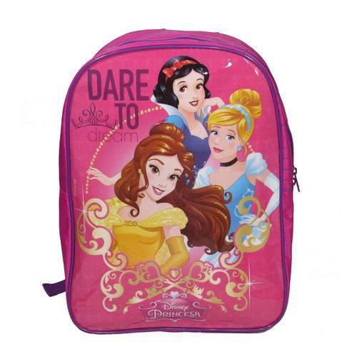 Kit escolar Mochila e Lancheira Princesas Disney - Dermiwil