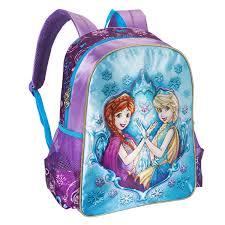 Kit escolar Princesas Friends on Ice Mochila, Lancheira e Estojo - Clio
