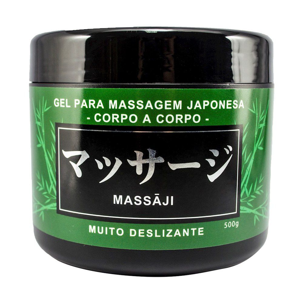 Massaji Gel Massagem Japonesa Nuru Deslizante 500g Hot Flowers