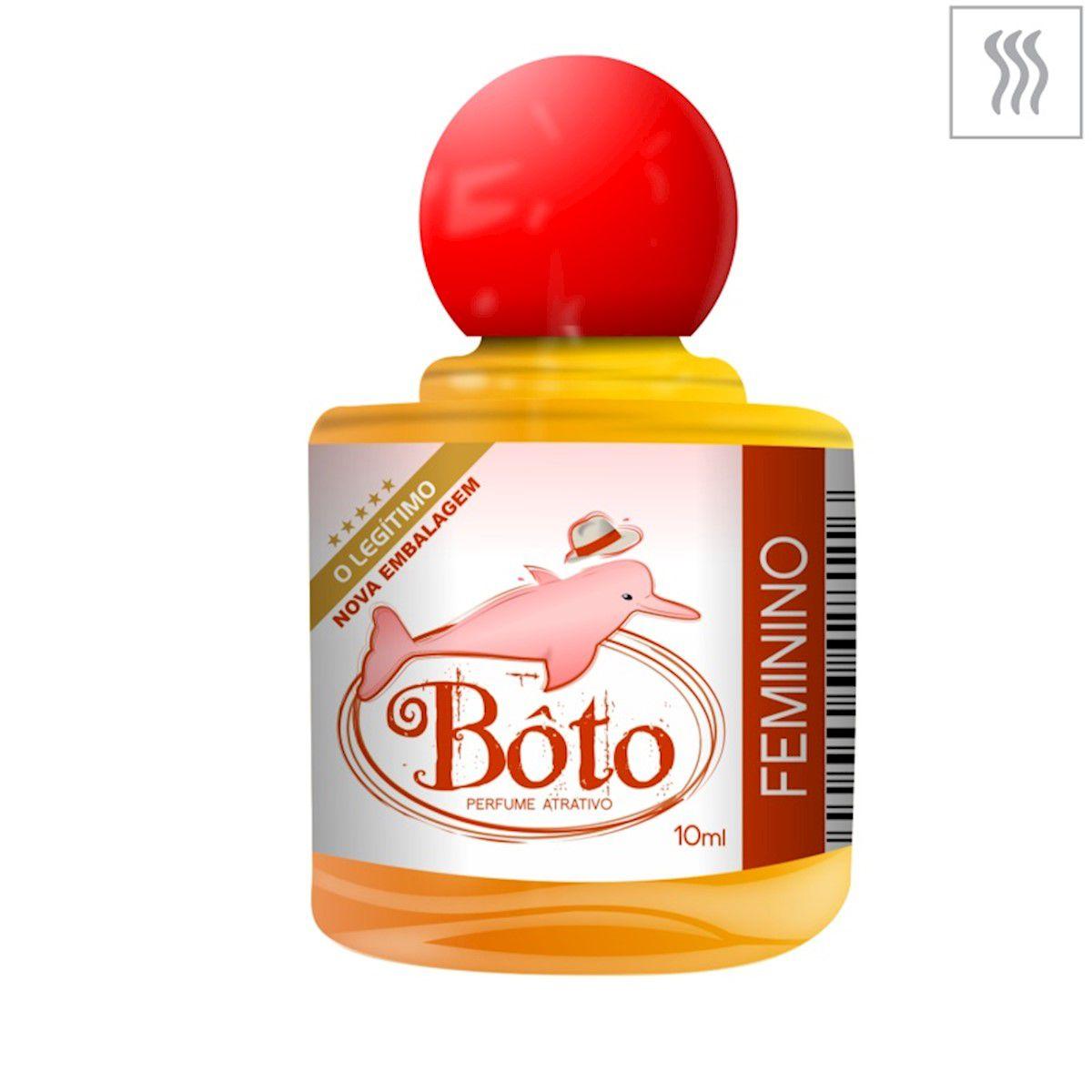 Perfume Feminino Afrodisíaco Atrativo Bôto Concentrado 10ml
