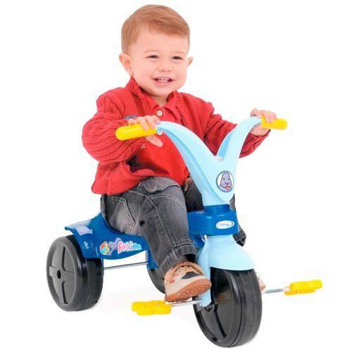 Triciclo Velotrol Fokinha Infantil Meninos Xalingo Azul