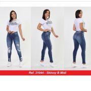 b1da4b8c1 Calça Skinny Jeans Feminina Cintura Media Biotipo Lançamento Azul