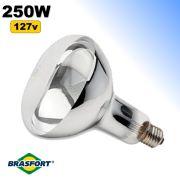 Lâmpada Infravermelha de Secagem 250w 127v Brasfort