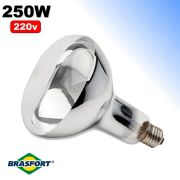 Lâmpada Infravermelha de Secagem 250w 220v Brasfort