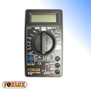 Multímetro Digital Com Alerta Sonoro Completo Foxlux
