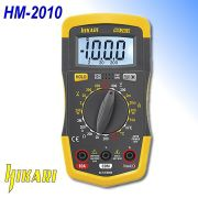 Multímetro Digital Com Alerta Sonoro Completo HM-2010 Hikari