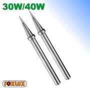 Ponteira Para Ferro de Soldar 30W e 40W Kit 2 Unidades Foxlux