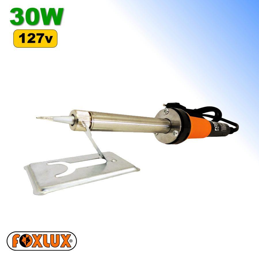 Ferro de Soldar 30w 127v Foxlux com INMETRO