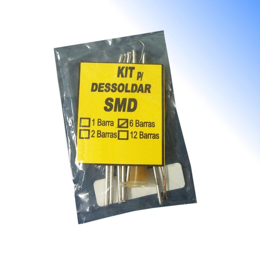 Kit de Dessoldagem SMD Salva Chip com 6 Barras