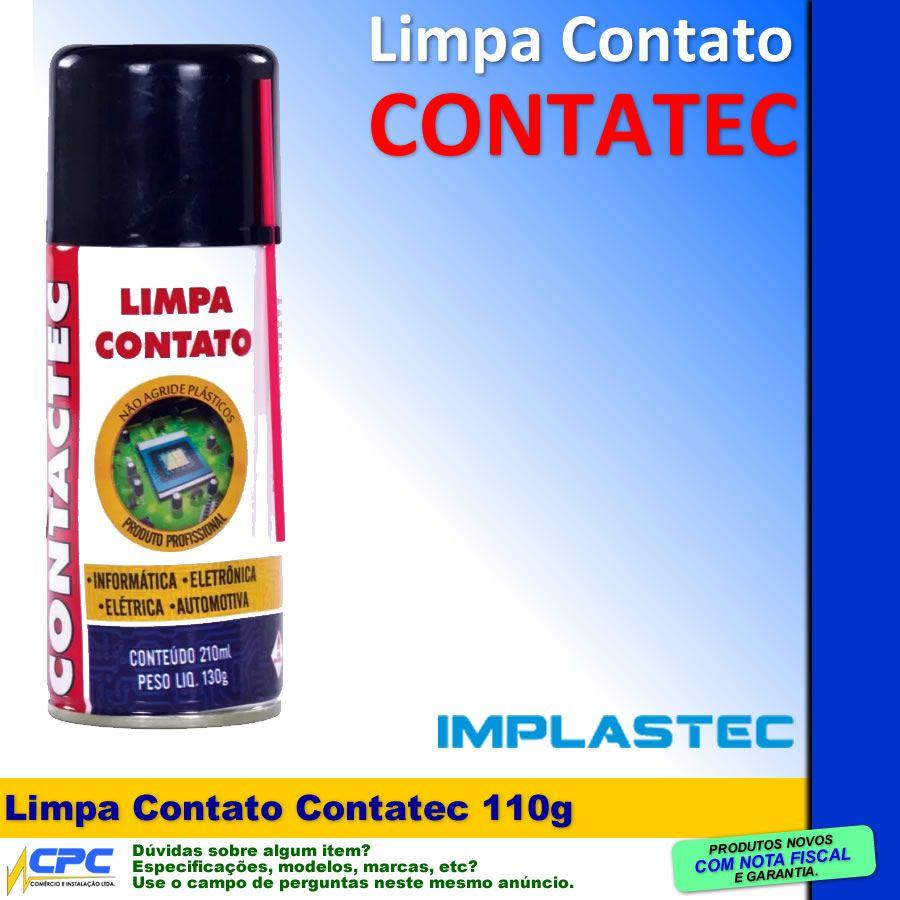 Limpa Contato Limpa Placas Contatec 210ml