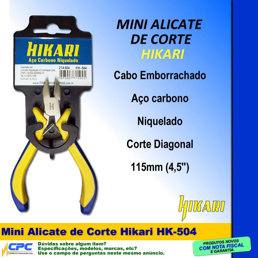Mini Alicate de Corte HK-504 Hikari