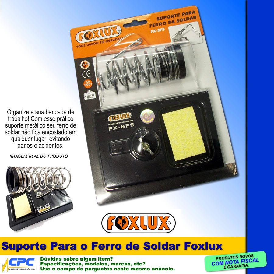 Suporte Base para Ferro de Soldar Foxlux