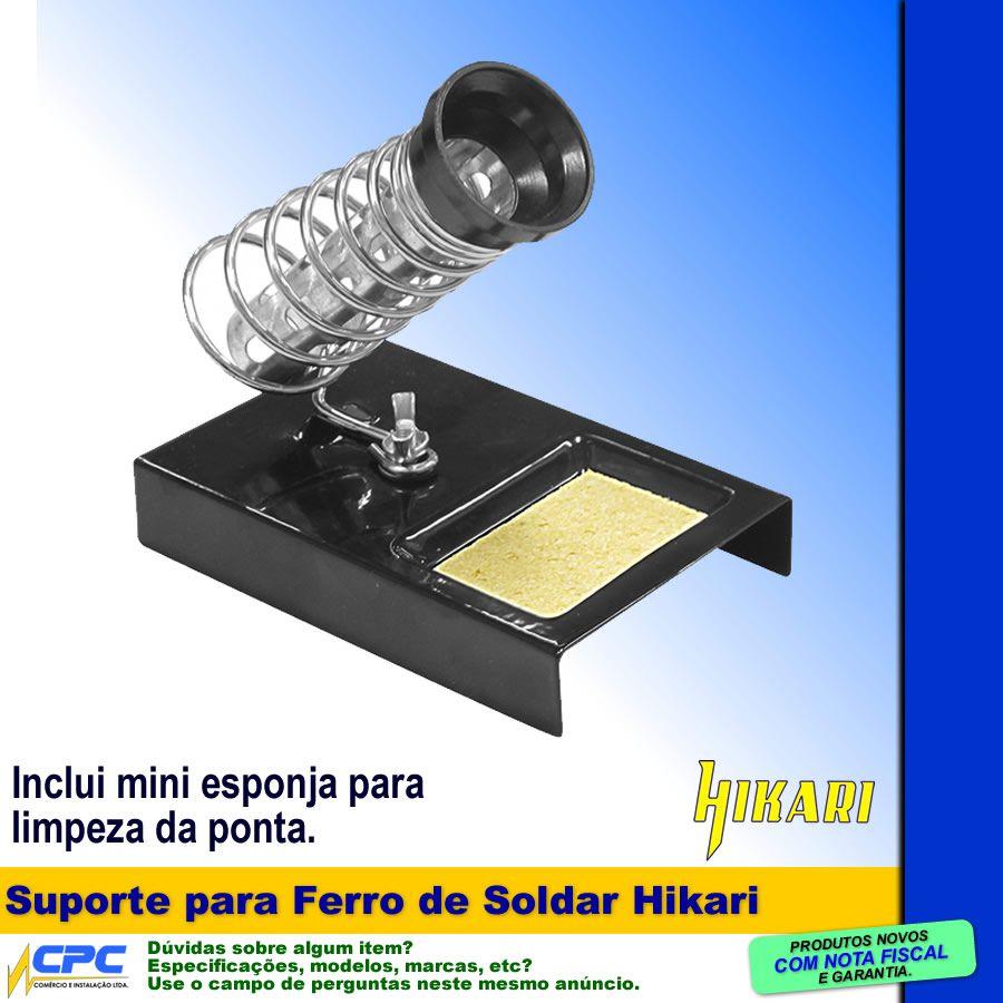 Suporte Base para Ferro de Soldar Hikari