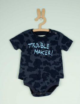 BODY CAMISETA TROUBLE