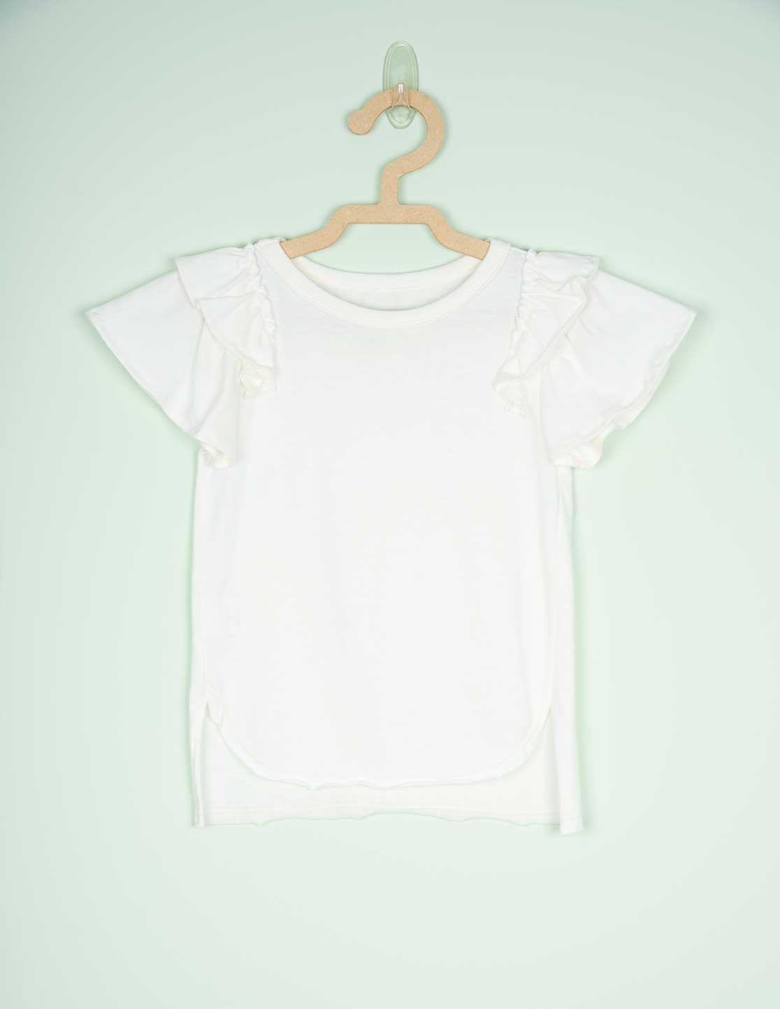 TOP BEIJA-FLOR OFF-WHITE