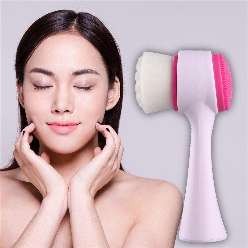 Escova de Limpeza e Esfoliação facial