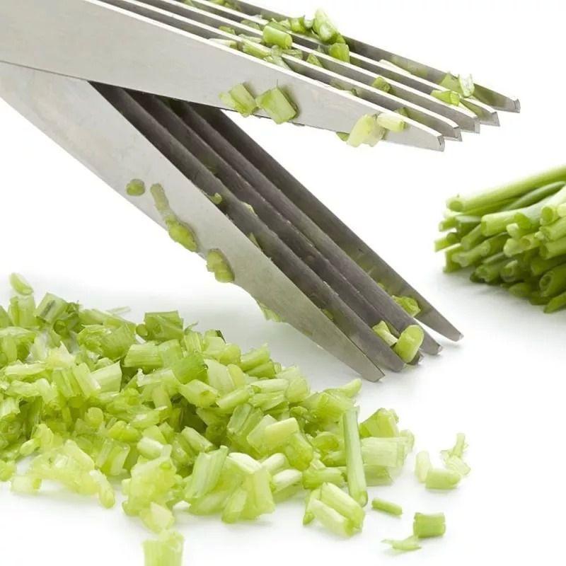 Tesoura Para Legumes Multi-cortes Inox