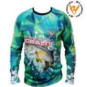 Camiseta Ml Robalo Verde GG1