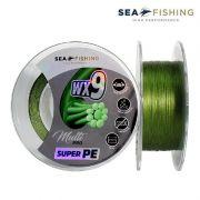 Linha Multifilamento Sea Fishing Wx9 green 300 metros