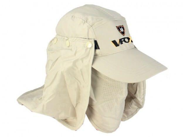 Boné Vfox C/ Proteção de Pescoço (Caqui)