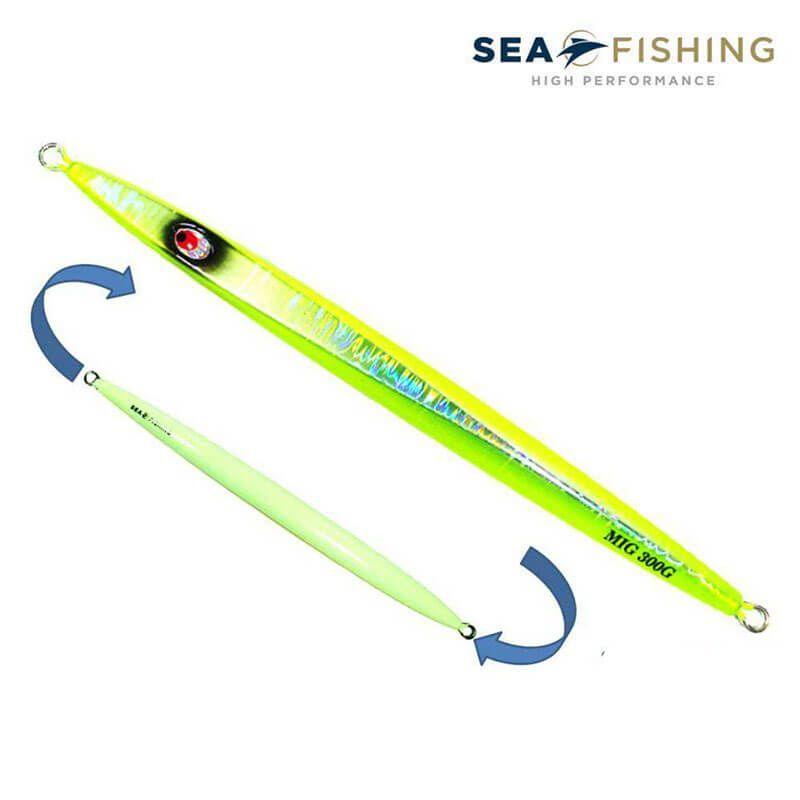 Jig 250g Sea Fishing Mig