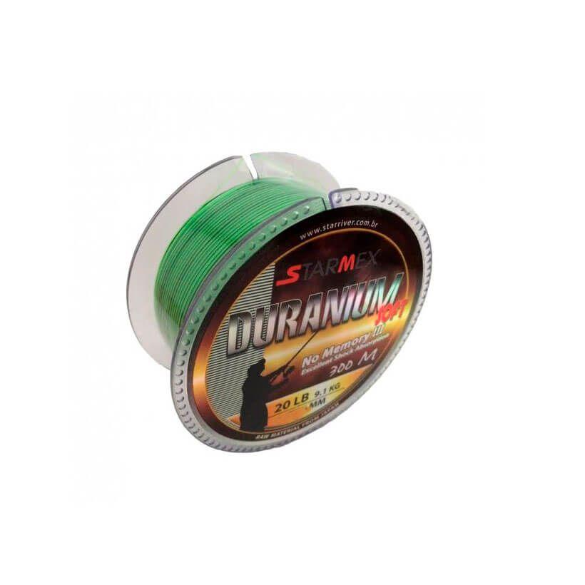 Linha Monofilamento Starmex Duranium Soft 300m