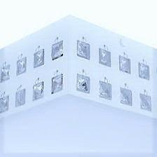 Lustre Plafon Cristal Quadrado Branco Interlux 260