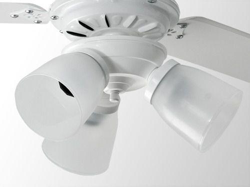 Ventilador De Teto Rubi Branco Lorensid