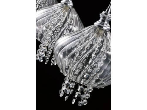 Pendente Cristal Com Cupula De Vidro Itamonte G