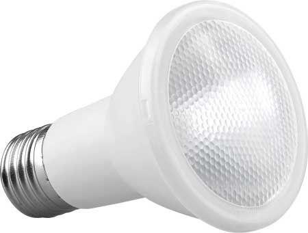Spot Triplo 3 Lampada Par20 Branco C/ Lamp. Led