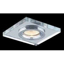 Spot Cristal Quadrado Bella Yd134 C/ Lamp. Led