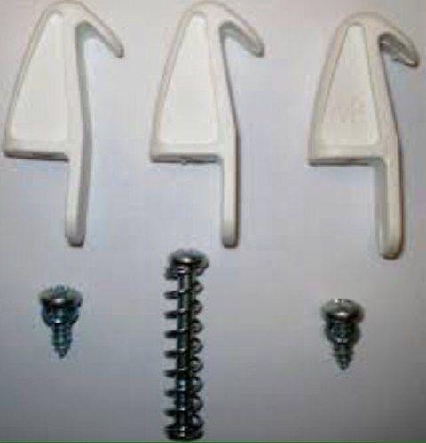 Garra Para Plafon Ventilador Volare - Ventax Kit 3 Pcs