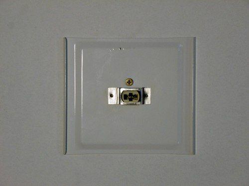 Arandela 2 Fachos Interna Alumínio Ideal 914
