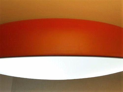 Plafon Redondo Branco Victoria 60cm + 5 Lampadas Led 8w Bq