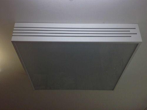 Plafon Frizos Alumínio E Acrílico 60x60