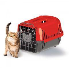Caixa Transporte Cats Evolution vermelha