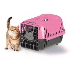 Caixa de Transporte Cats Evolution Rosa