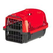 Caixa de Transporte Pet Injet Evolution para Cães Vermelha