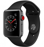 Apple Watch Series 3 42mm Cellular Space gray/ Black