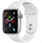 Apple Watch Series 4 44 mm Silver/White