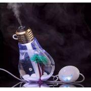 Lâmpada Umidificadora de ar Aromatizador Luminária