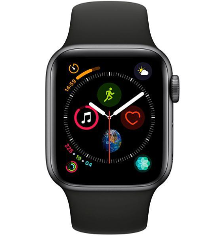 Apple Watch Series 4 40 mm Space Gray/Black