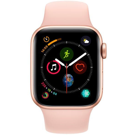 Apple Watch Series 4 44 mm GPS/LTE - Gold/Pink Sand