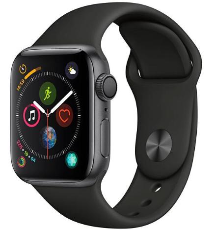 Apple Watch Series 4 44 mm Space Gray/Black