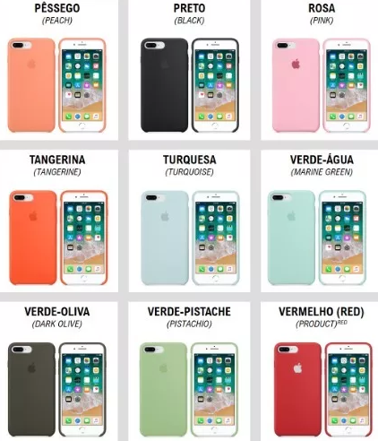 Case silicone iPhone 6 Premium
