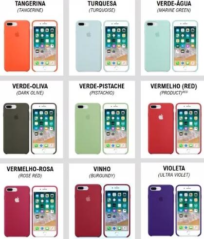 Case silicone iPhone 7/8 Plus Premium